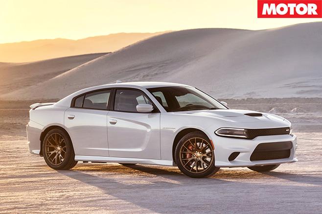 Dodge Charger SRT front