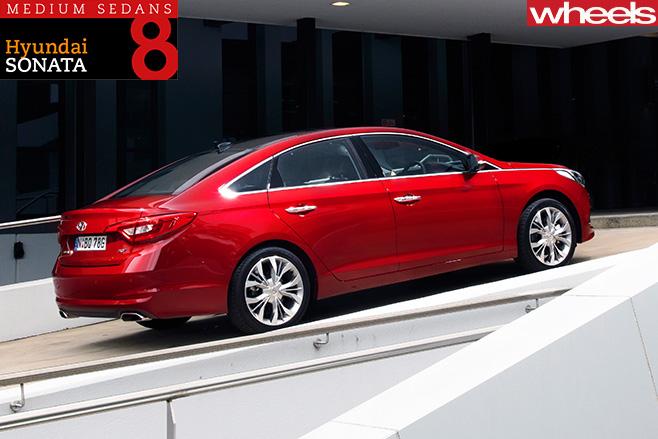 Hyundai -Sonata -rear -side