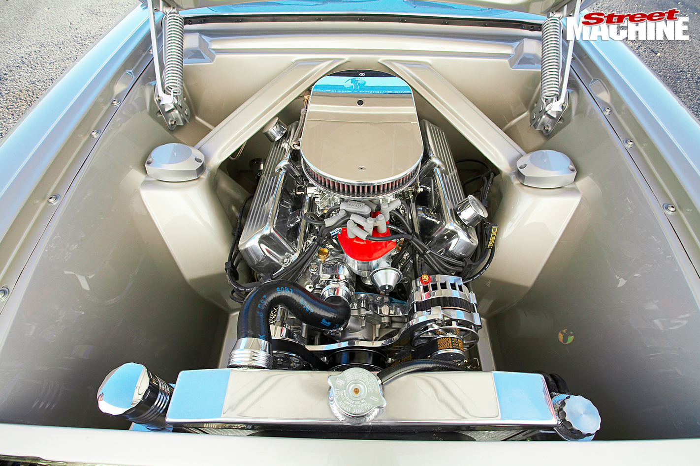 Ford -xm -convertible -engine -bay