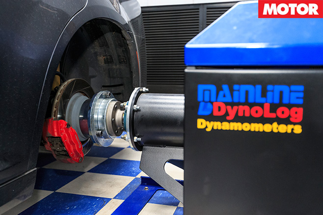 Mainline dyno hub