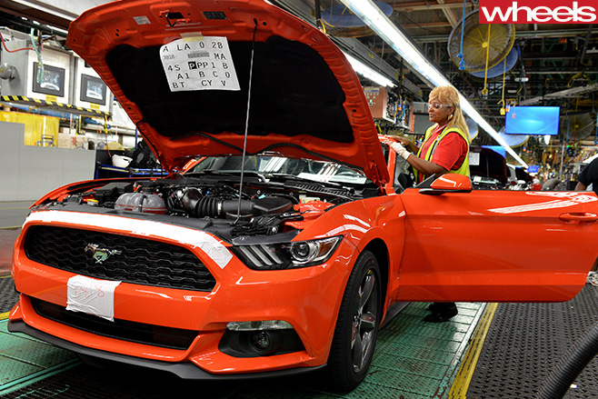 Ford -Mustang -model