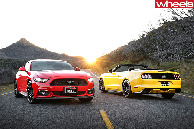 Ford -Mustang -models