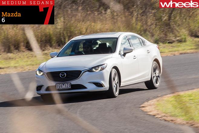 2016-Mazda -6-sedan -driving -front -side