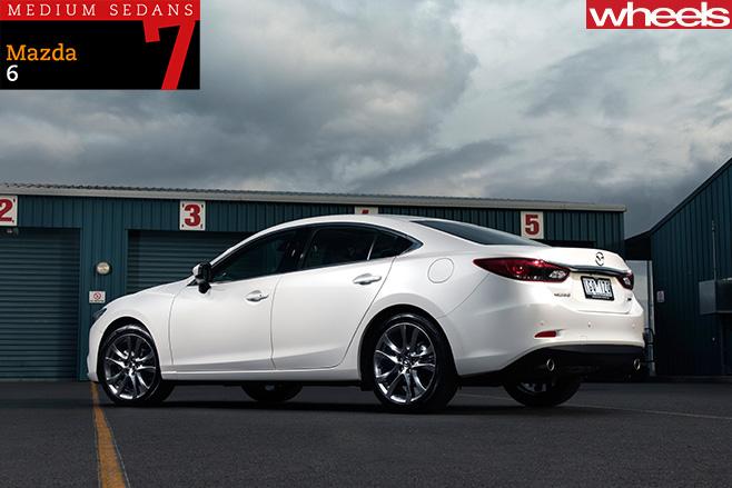 2016-Mazda -6-sedan -rear -side
