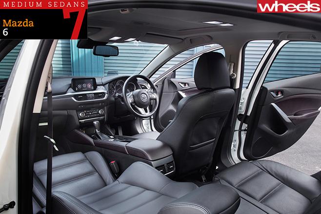 2016-Mazda -6-sedan -interior