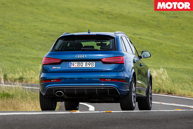 Audi RS Q3 performance rear