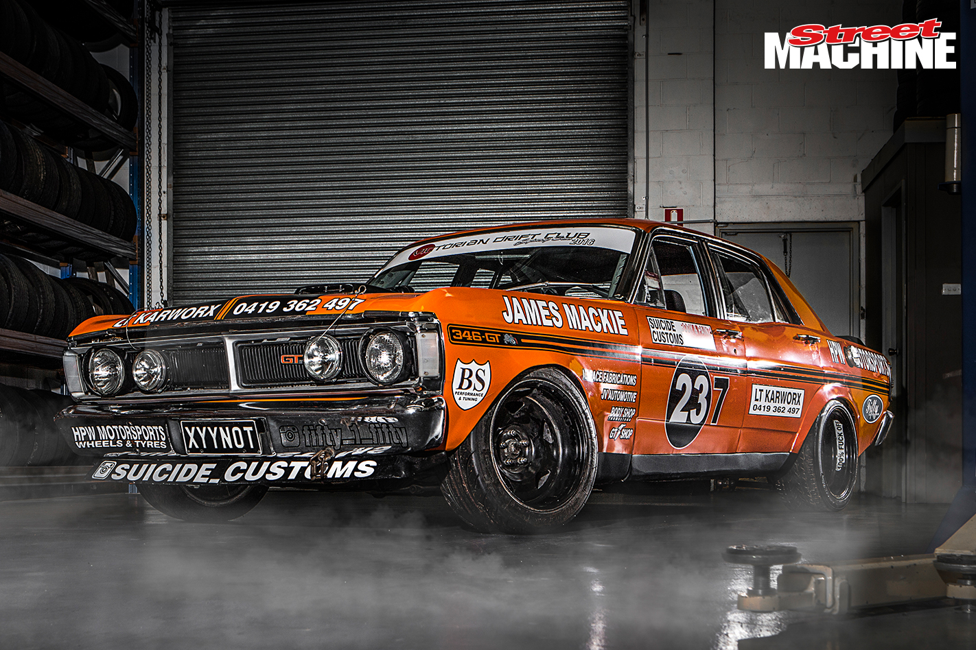 Ford XY Falcon GT Drift XYYNOT 2