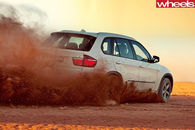 2011-BMW-X3-sand -drift