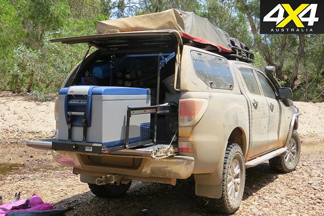 Mazda bt 50-rear fridge slider