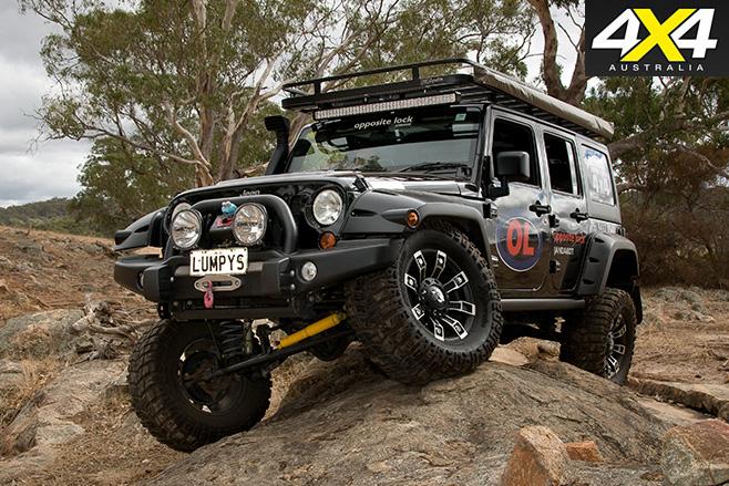 Jeep Wrangler JK front