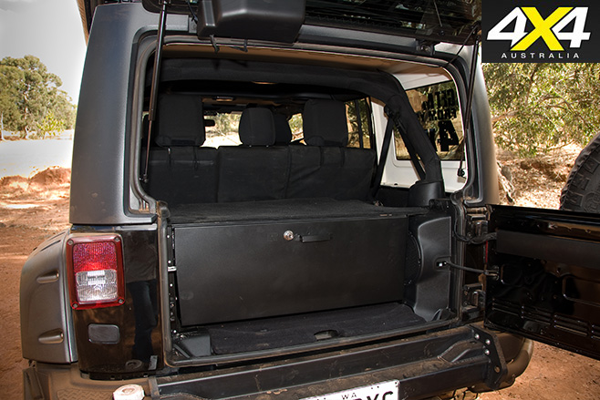 Jeep Wrangler JK rear