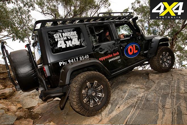 Jeep Wrangler JK side