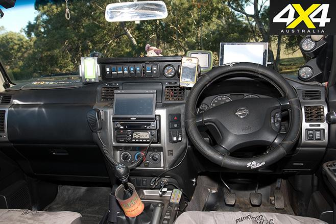 GU Patrol interior