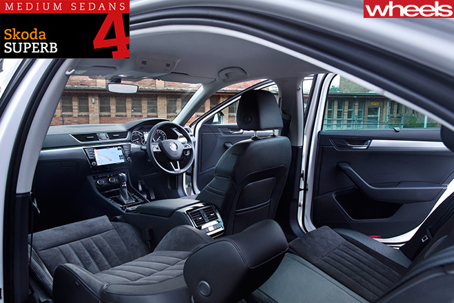 Skoda -Superb -interior