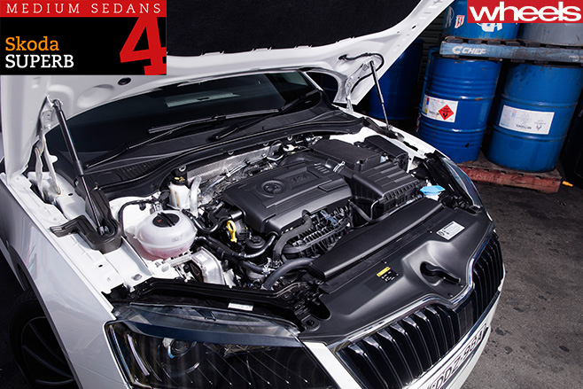 2016-Skoda -Superb -engine