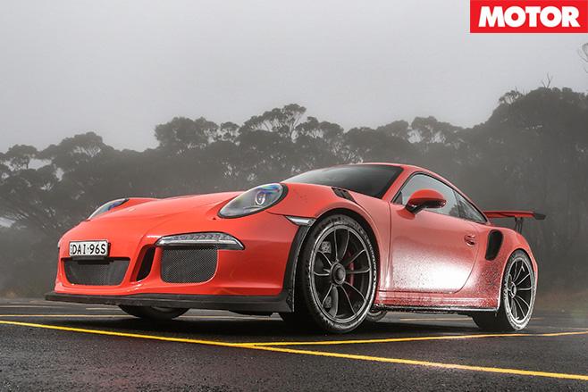 Porsche 911 GT3 RS front