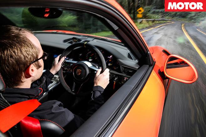 Driving the Porsche  911 GT3 RS