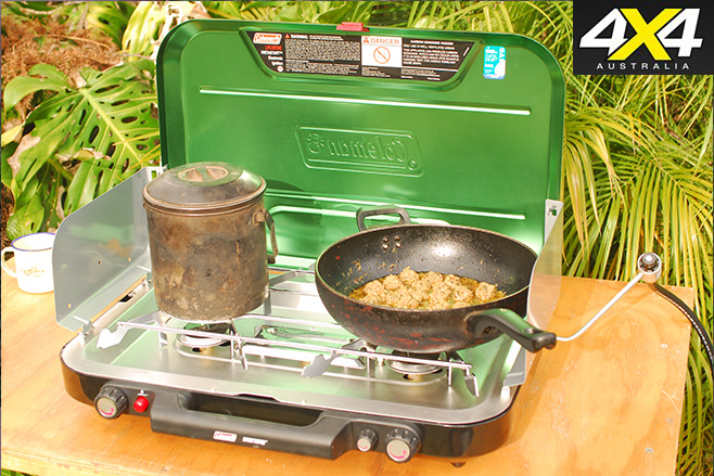 Outdoor camping stove