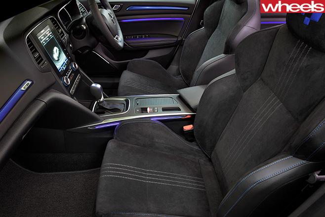 Renault -Sport -Megane -GT-interior