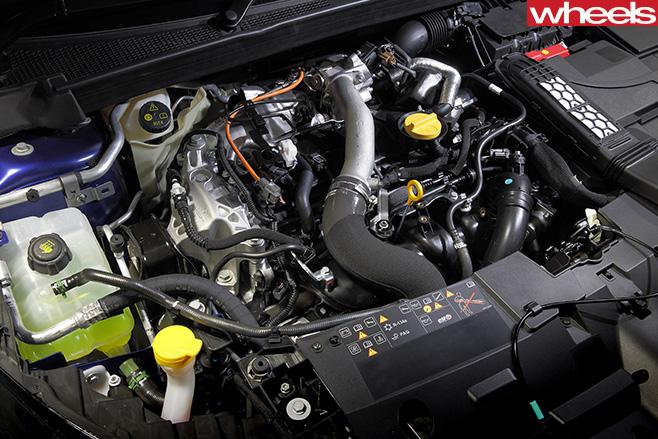 Renault -Sport -Megane -GT-engine