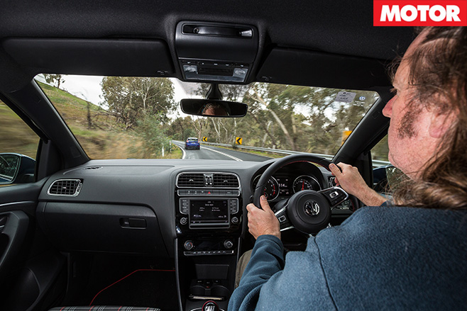 Driving the vw polo gti