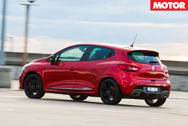 Renault Clio RS rear