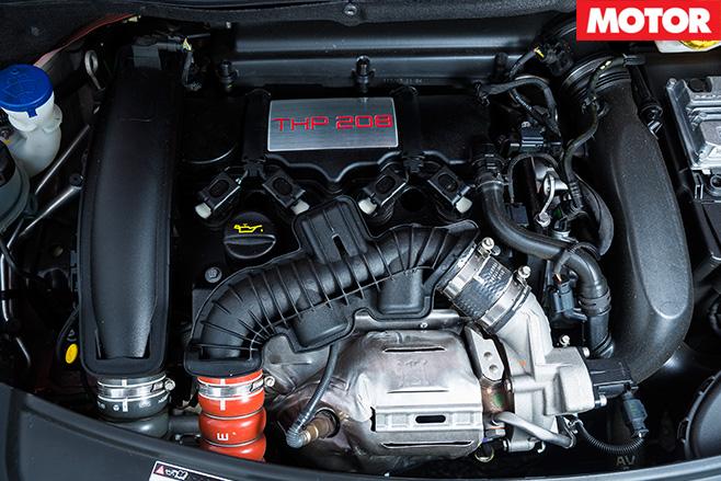 Peugeot 208 GTi engine