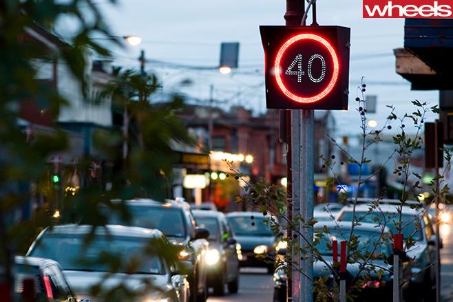 40km -h -speed -limit