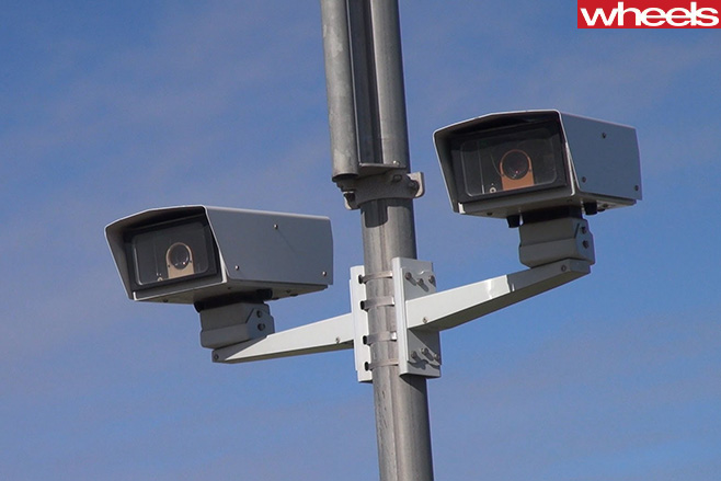 Point -to -point -speed -camera
