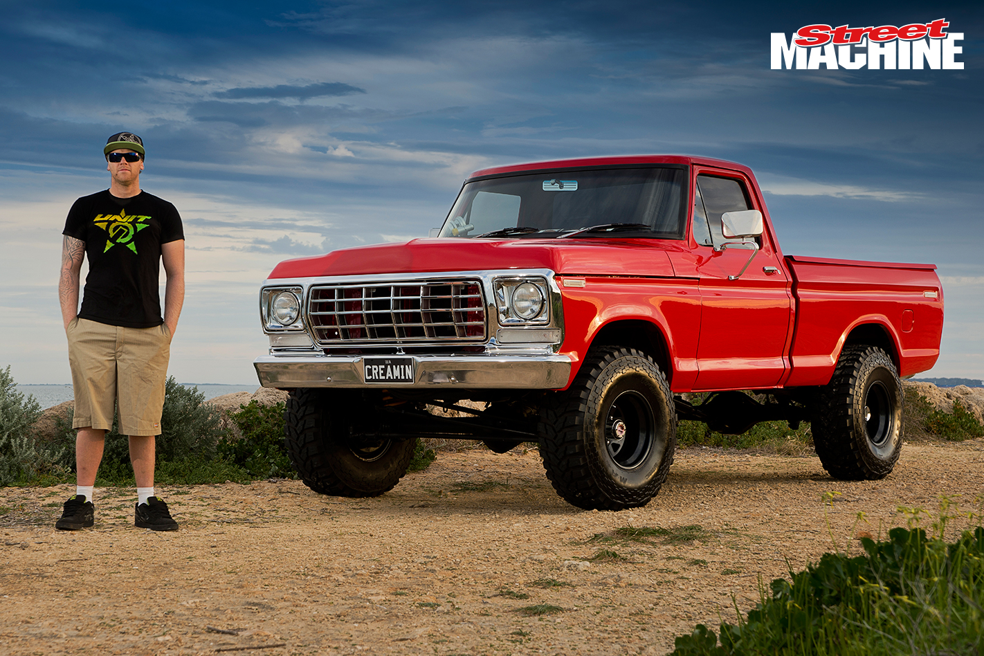 Ford F100 Lifted 351 1
