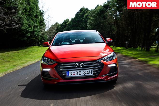 2016-Hyundai Elantra SR Turbo front