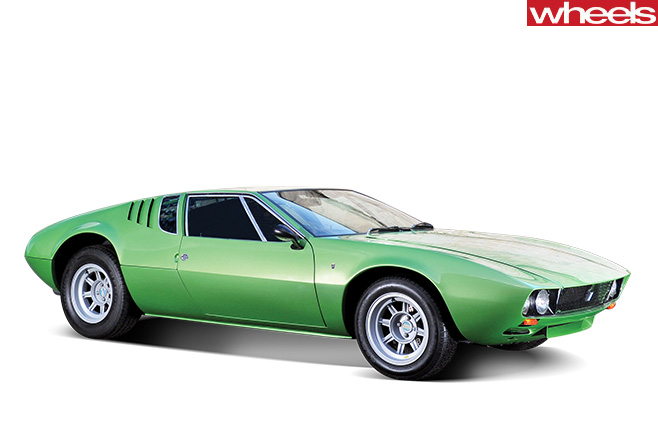 1967-De -Tomaso -Mangusta -front -side