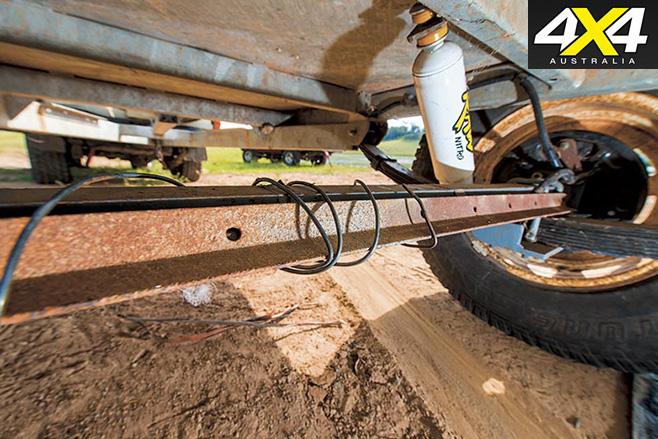 bent axle repairs