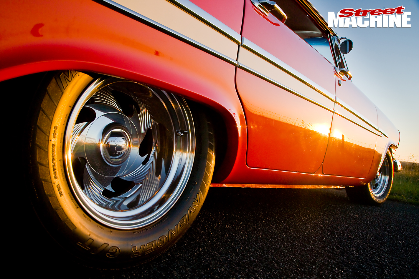 Blown -Plymouth -Belvedere -rear -wheel