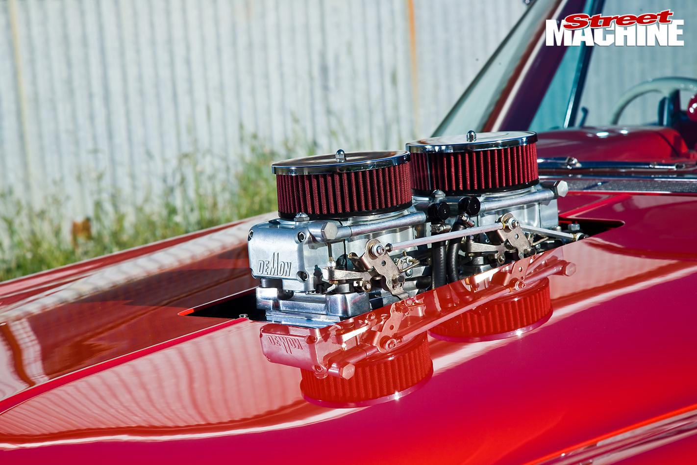 Blown -Plymouth -Belvedere -engine -2