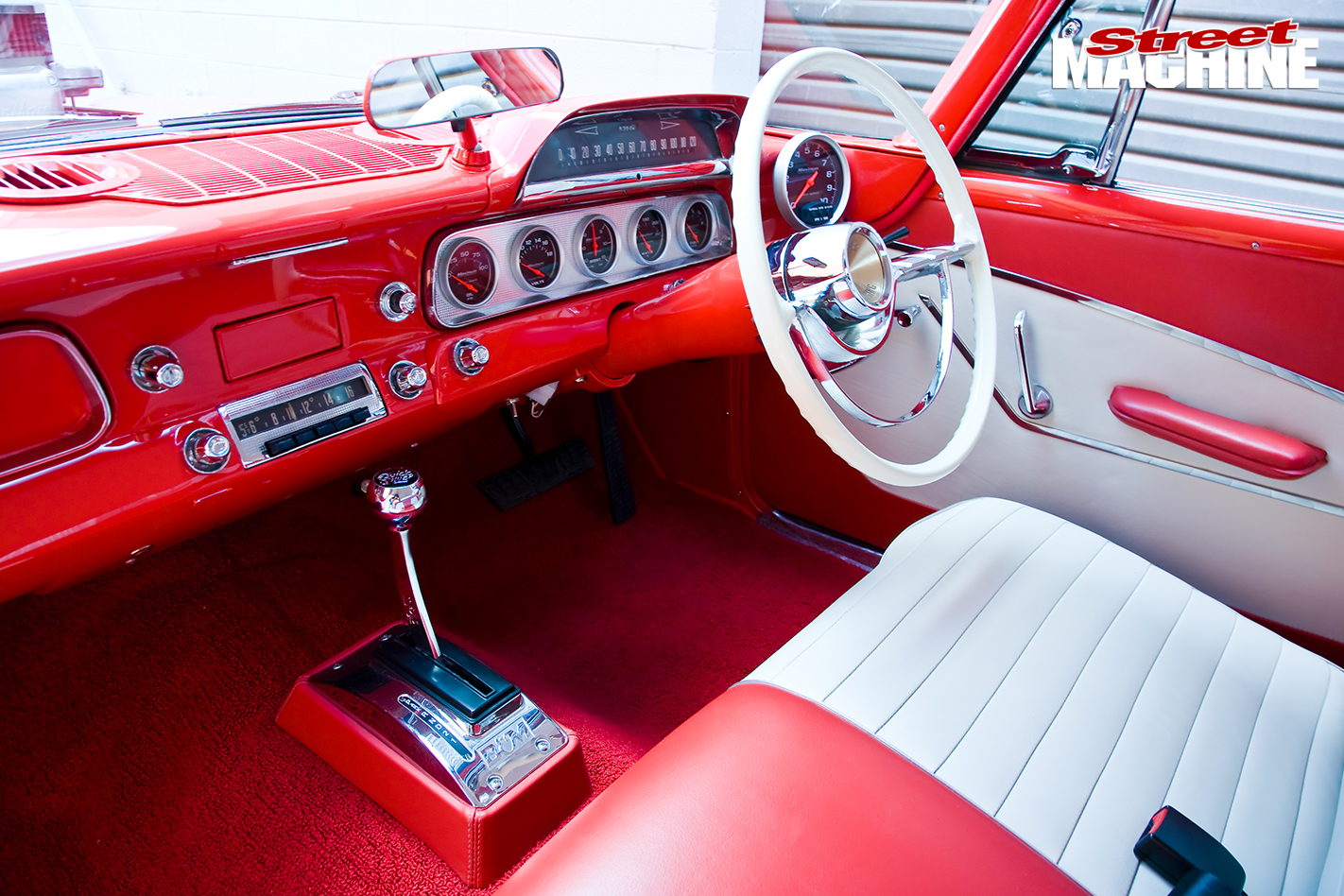 Blown -Plymouth -Belvedere -interior -wide