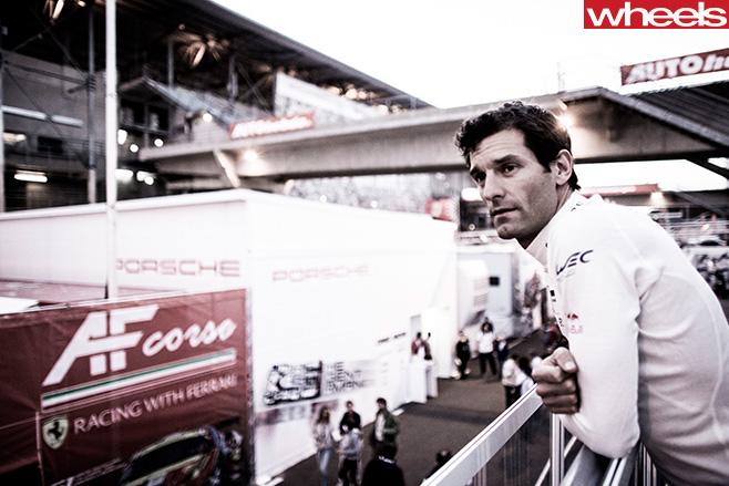Mark -Webber -at -track
