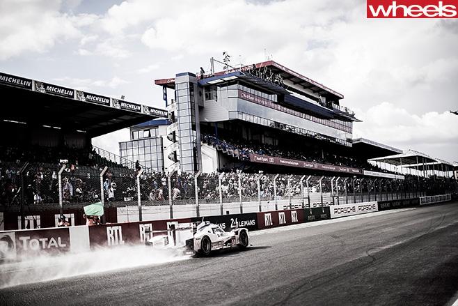 Mark -Webber -Porsche -at -track