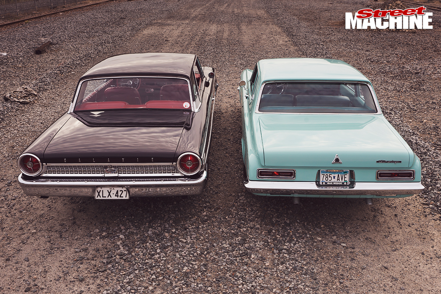 Dodge -Polara -330-vs -Ford -Galaxie -500XL-back