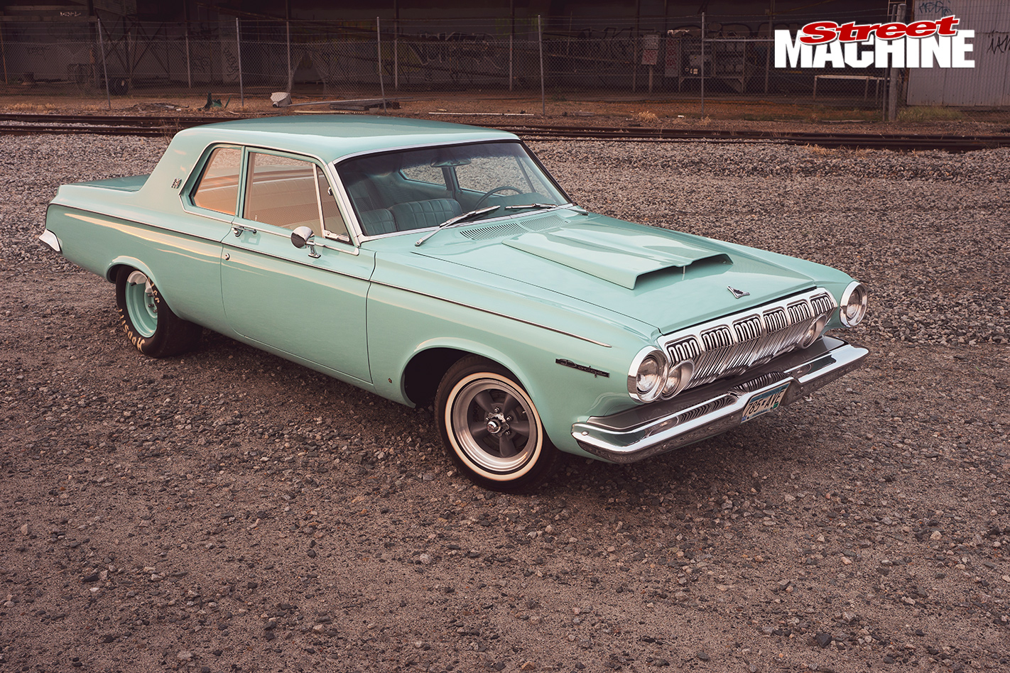 1963 Dodge Polara 330 Vs Ford Galaxie 500xl 4 Door Hardtop Front