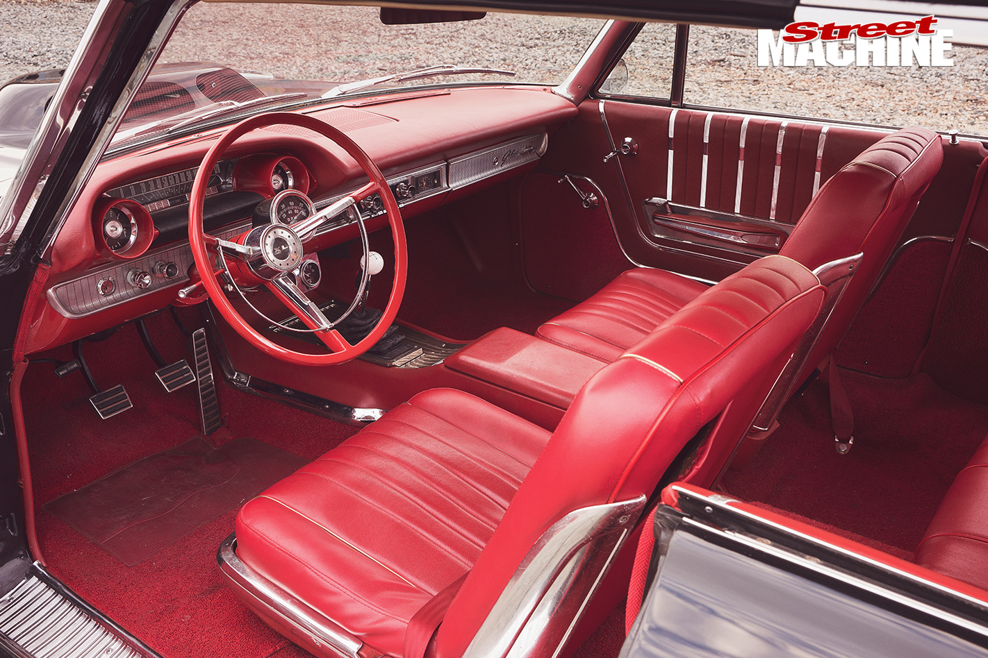 Ford -Galaxie -500XL-interior