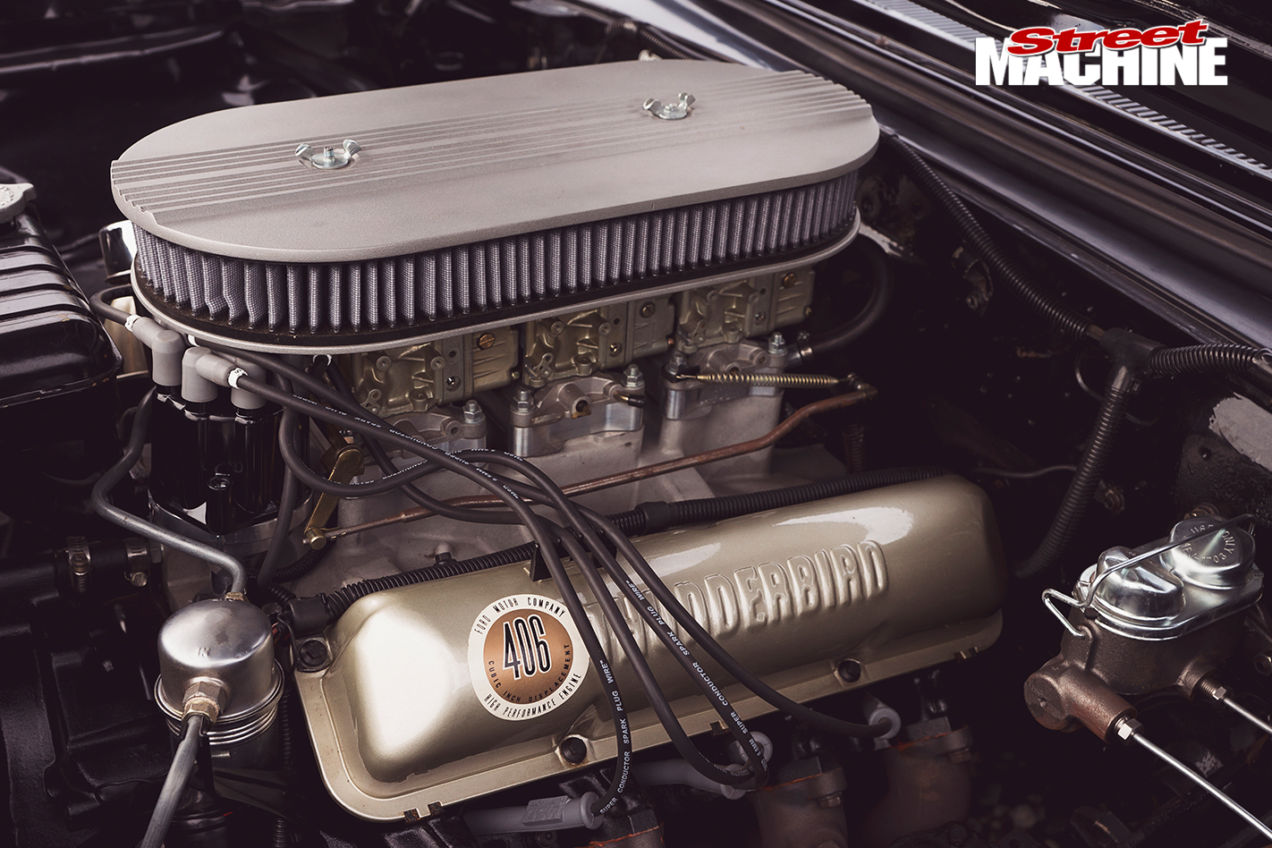 Ford -Galaxie -500XL-engine