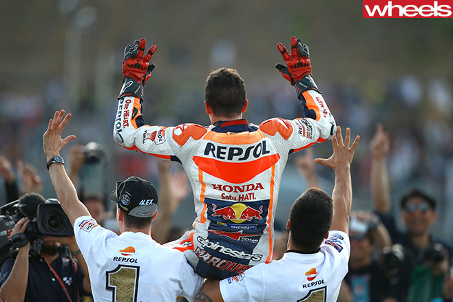 Marc -Marquez -chaired -off -motogp
