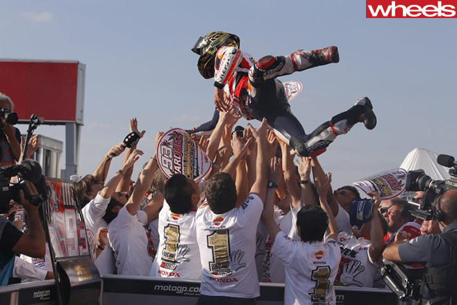 Marc -Marquez -crowd -surfing -motogp