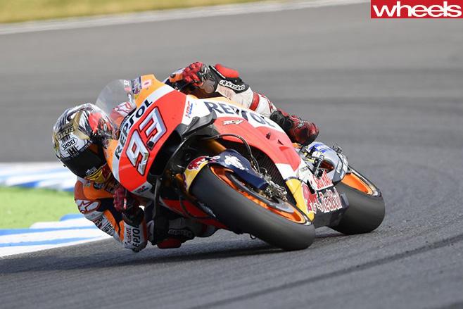 Marc -Marquez -corner -Moto Gp