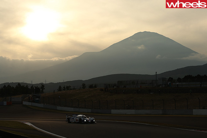 Toyota -racing -WEC-at -Mt -Fuji -Japan