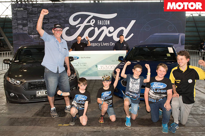 Ford falcons sold