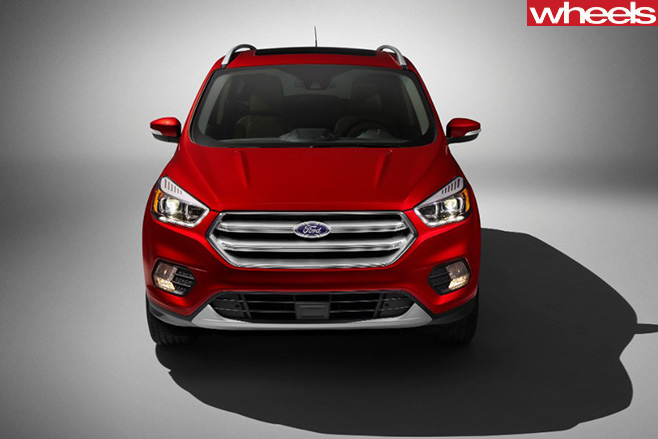 2017-Ford -Escape -front