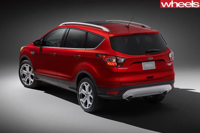 2017-Ford -Escape -rear -side