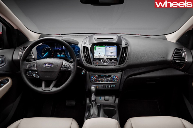 2017-Ford -Escape -interior -dashboard